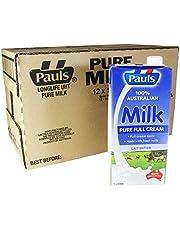 PAULS Pure UHT Milk, 1L (Pack of 12)