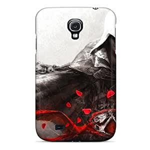 Samsung Galaxy S4 XeV8484jMWm Support Personal Customs Vivid Assassins Creed Pattern Shock Absorption Hard Phone Case -PhilHolmes