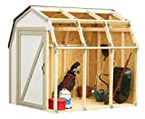 Hopkins 90190 2x4basics Shed Kit, Barn Style Roof