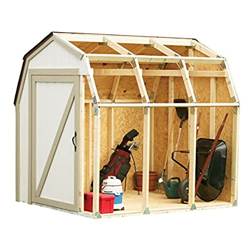 hopkins 90190 2x4basics shed kit barn style roof - Garden Shed Kits