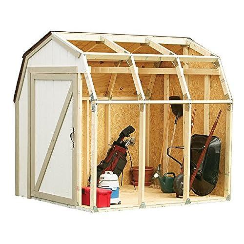 wood shed kits amazon com
