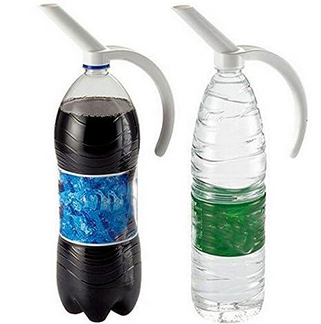 Creativo dispensador de bebidas, botella para el hogar, el bar, con imagen de coca cola, refresco, / Dispensador de bebidas para fiesta con soporte: ...