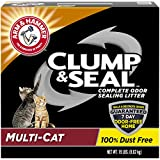 Arm & Hammer Clump & Seal Litter, Multi-Cat, 38 Lbs