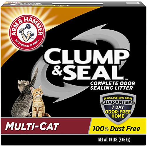 Arm & Hammer Clump & Seal Litter, MultiCat 19lb