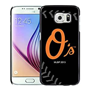 Baltimore Orioles Black Case with Newest and Unique Look for Popular Samsung Galaxy S6