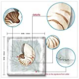 3Hdeko - Seashell Wall Decor for Bathroom Modern