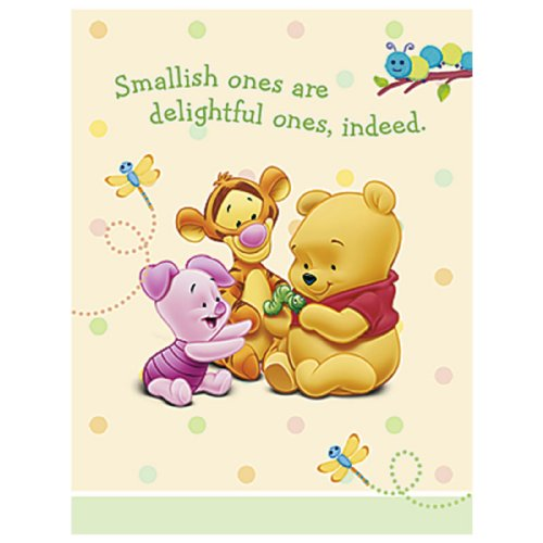 Pooh Baby Days Invitations ()