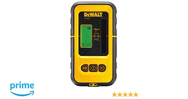 DeWalt DE0892-XJ Detector para láser DW088 y DW089 con alcance hasta 50m: Amazon.es: Bricolaje y herramientas