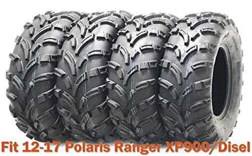 25x10-12 & 25x11-12 High Load ATV tires for 12-17 Polaris Ranger XP900/Disel by Wanda (Image #1)
