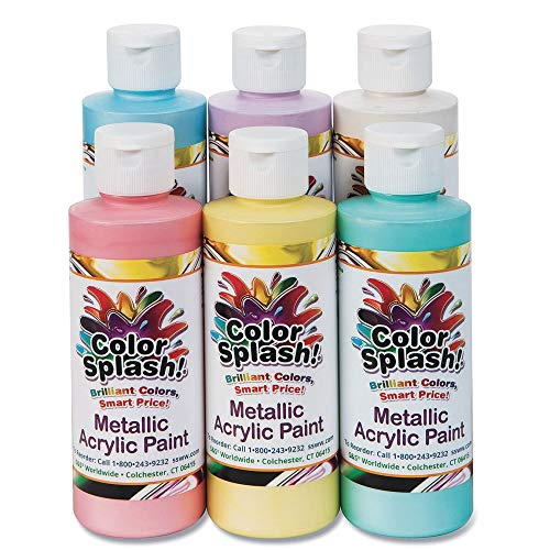 8 oz. Color Splash! Metallic Acrylic Paint Assortment