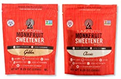 Lakanto is a no-calorie sugar substitute with a taste you'll love! It's a lot like raw sugar, but with one big difference: its zero calories and zero glycemic index won't affect your blood sugar levels. It is a One-to-one sugar replacement th...