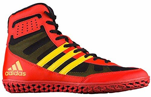 adidas Performance Herren Mat Wizard.3 Wrestling Schuhe Rot / Gelb / Schwarz