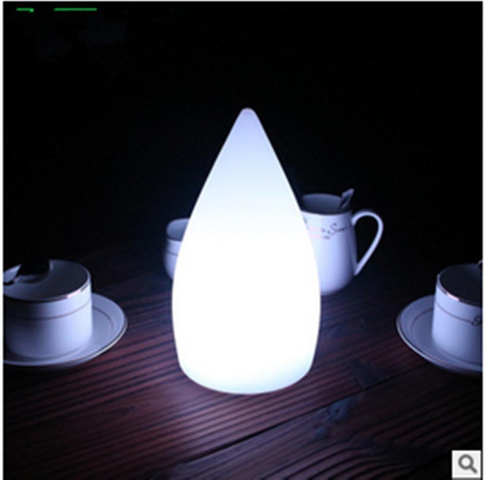 Lámpara de Mesa Lámpara Lámpara Mesa de Escritorio -Gota de Agua LED de luz de la Noche de la lámpara de Mesa c4c658