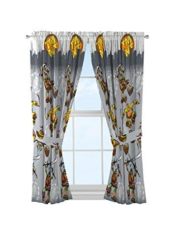 ninja turtle curtains girl - 8