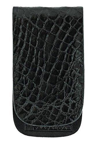 Alligator Money Clip - Trafalgar Genuine Alligator Magnetic Money Clip Black 30% OFF