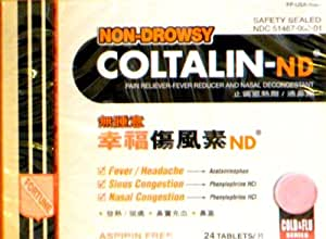 Coltalin Cold & Allergy Tablet - Reviews - tabletwise.com
