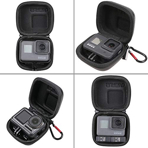 Hard Carrying Case for GoPro Hero 9/8,SUREWO Mini Hard Shell Carrying Case Travel Portable Storage Bag for GoPro Hero 9/8/7/6/5/4,DJI Osmo Action,AKASO,Campark,YI Action Camera and More