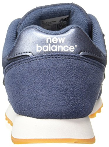Bleu New Wl373oit navy Balance Femme Baskets white wIrqI51x