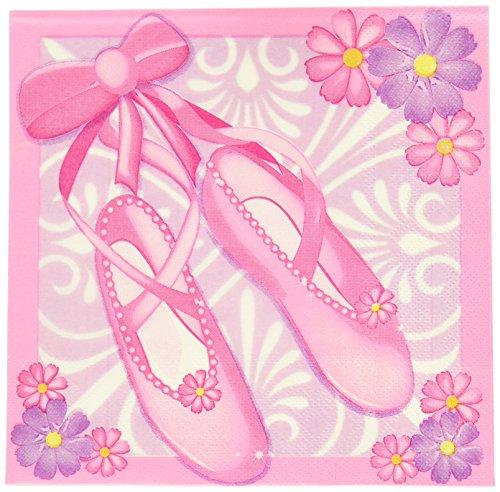 Ballerina Paper Napkins 16 Pack