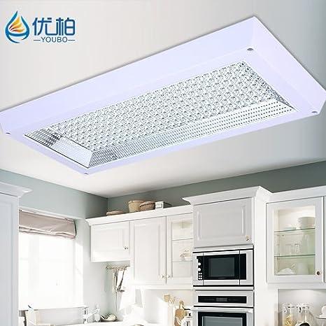 JJ moderna lámpara de techo LED LED moderno y minimalista ...