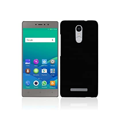 buy popular cda86 fe62a Back Cover for Gionee S6s - Black Colour - Shop Buzz: Amazon.in ...