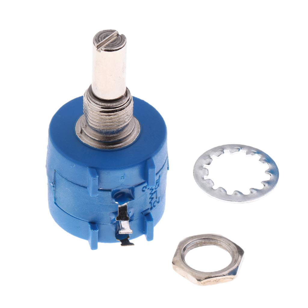 Sharplace de Potenció metro Rotativo Bobinado 3590s Rotativo Multivuelta Resistente Precisió n de Rotura de Alambre - 10k