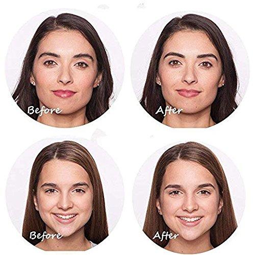Flawless Brows Eyebrow Hair Remover, Electric eyebrow pencil Lipstick repairing eyebrow, Flawless touch finishing As Seen On TV, Blush (Epilators) TUGOYO