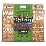 Slobbers Organic Dog Treats BAKSMO1 Organic Tender Dog Strips, Smooth