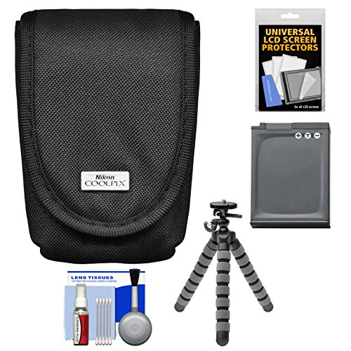 nikon-coolpix-5879-digital-camera-case-with-en-el12-battery-flex-tripod-accessory-kit-for-aw110-aw12