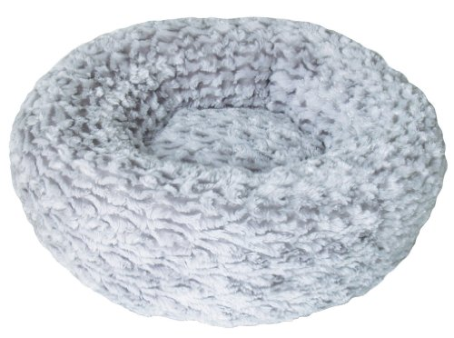 Dogit Style Donut Bed, Rosebud, Gray X-Small ()