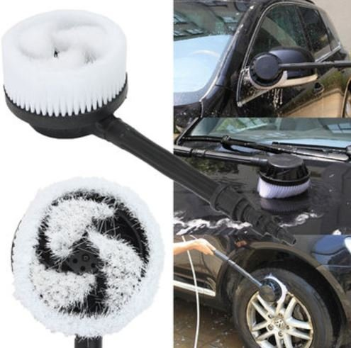 Pressure Washer Rotary Brush Quick Connect + Adapter for Black&Decker/Bosch AQT by ShopIdea
