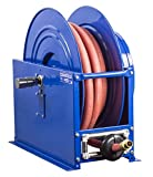 Coxreels SLPL-5100 Single Hose Spring Rewind: 3/4'' PSI, 100' hose capacity, less hose, 300 PSI