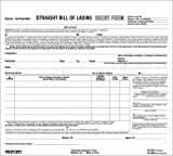 REDIFORM Bill of Lading, Snap-A-Way, Ruled, 3-Part, Carbonless, 8.5 x 7, 250 Individual Forms (44301) by Rediform