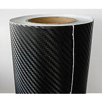 Film carbone structure 3D 200 x 152 cm (= 3,04 m² 5,59 €/m², TVA et frais d'envoi inclus), film auto-adhésif carbone pour automobile