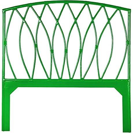 David Francis Furniture Royal Palm Headboard Green Twin Green Apple