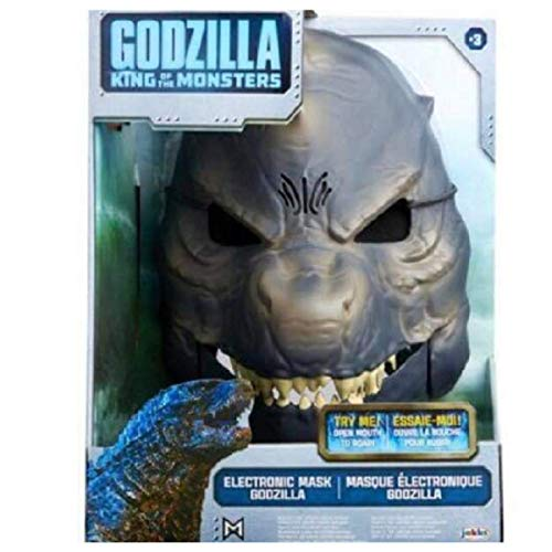 (Godzilla King of Monsters Mask with Sound Effects Gray)