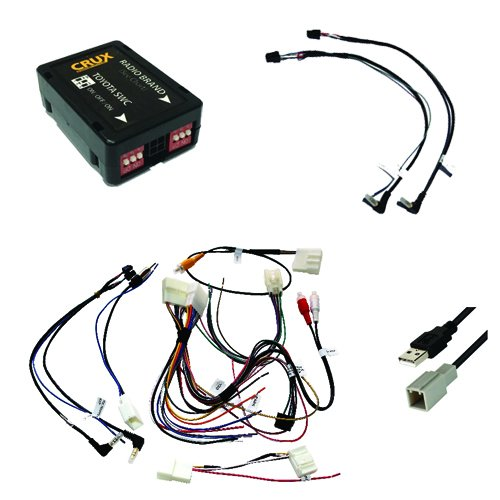 CRUX SWRTY-61N Radio Replacement with SWC & OE RVC Retention (for Toyota Vehicles 2012-Up)