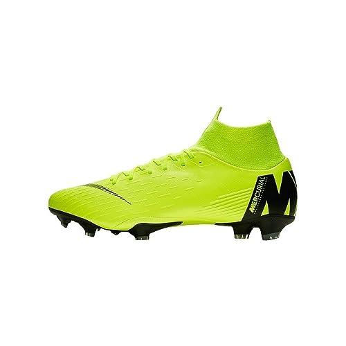 low priced c8ee6 0468c Nike Mercurial Vapor XII Pro FG, Zapatillas de Fútbol para Hombre   Amazon.es  Zapatos y complementos