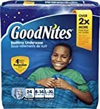 6943364PK - Goodnites Youth Pants for Boys Large/X-Large, Big Pack