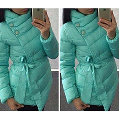 Invernali Asimmetrico Imbottita Del Colori Giacca Xxl Xl Verde Donna S Cappotto L M Esterna Lago Invernale Calda Cappotti Donne 4 Juleya 0nvPx