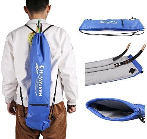 OKBY Recurve Bow Bag Outdoor Bow Storage Sling Bag Handtasche Verstellbarer Schultergurt