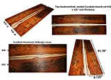 Cocobolo boards set #10, 51.75'' long x 9.125'' wide x 1.125'' thick
