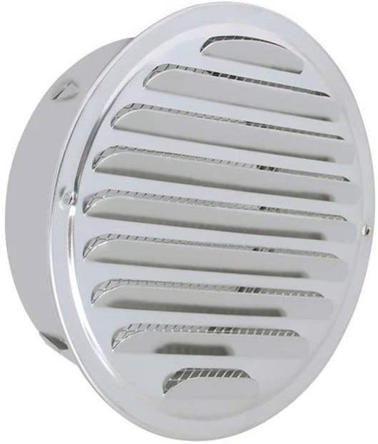 iplusmile plateado Cubiertas de ventilaci/ón para rejilla de ventilaci/ón y conductos de ventilaci/ón para montaje en pared y techo