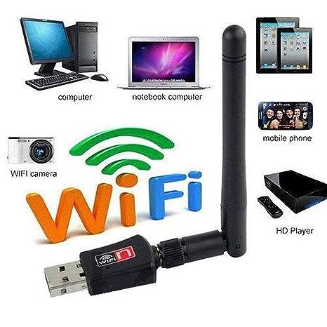 Kent MarkS - Adaptador inalámbrico USB WiFi de red WiFi ...