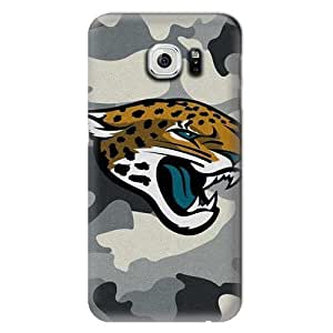 S6 Case, NFL - Jacksonville Jaguars Camo - Samsung Galaxy S6 Case - High Quality PC Case