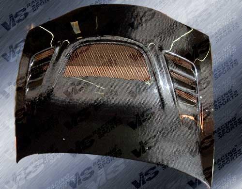 VIS 95-99 Eclipse/Talon Carbon Fiber Hood G SPEED 2G 98 (Vis G-speed Carbon Fiber Hood)