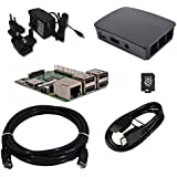 Raspberry Pi 3 Official Desktop Starter Bundle (16GB, Black)