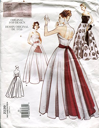 Vogue Vintage Model Pattern 2239 Misses