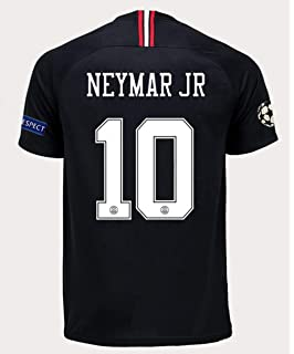 Redrun PSG X 18/19 Season 10# Neymar JR Mens Away Soccer Jersey &