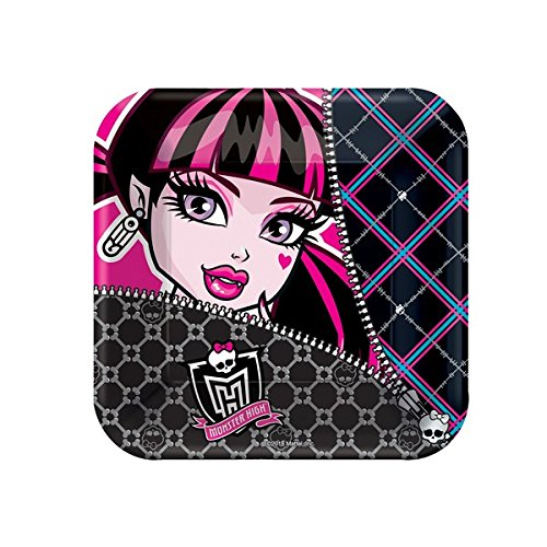 amscan Freaky Fab Monster High Square Paper Dessert